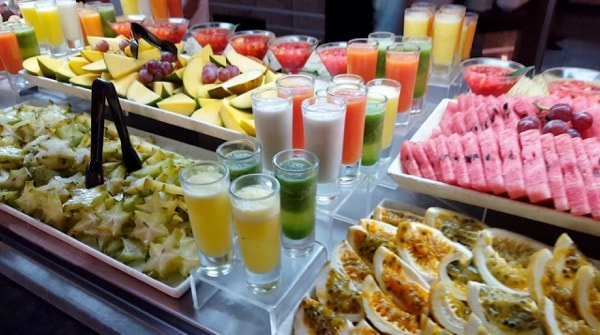Family Travel All Inclusive Punta Cana Riu Palance Bavaro Breakfast Buffet