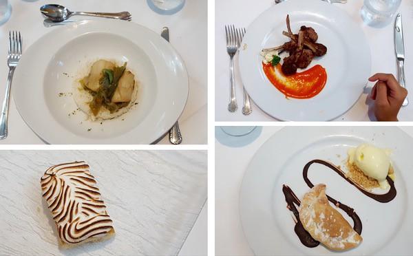 Family Travel All Inclusive Punta Cana Riu Palance Bavaro Italian Dinner Dessert image