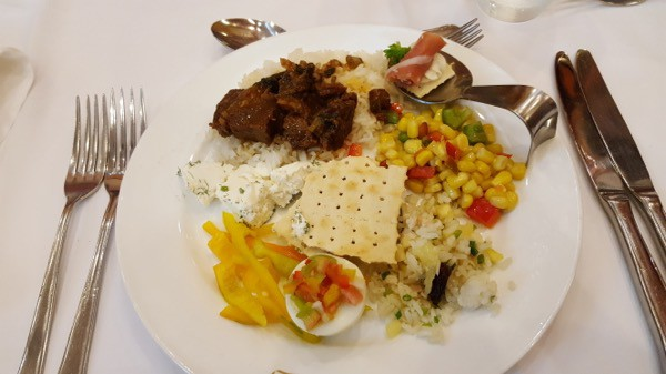 Family Travel All Inclusive Punta Cana Riu Palance Bavaro lunch Buffet image