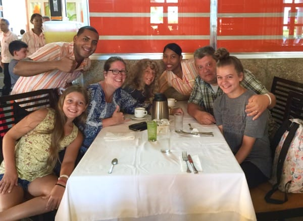 Family Travel All Inclusive Punta Cana Riu Palance Bavaro staff image