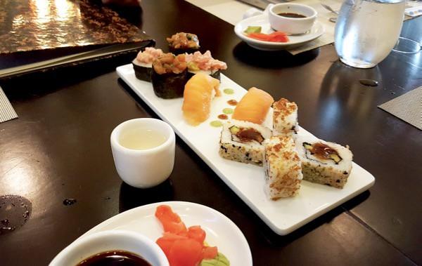 Family Travel All Inclusive Punta Cana Riu Palance Royal Giesha Sushi Platter image