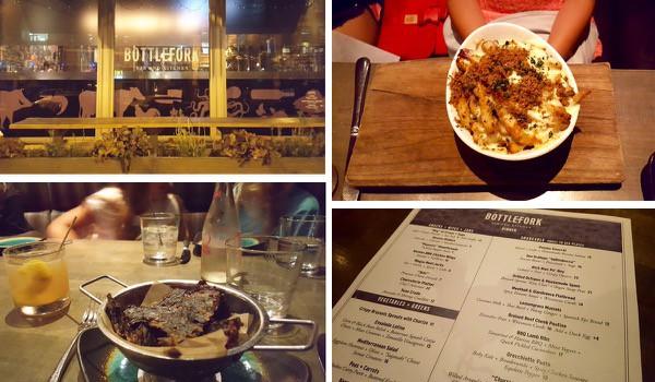 family-travel-chicago-river-north-restaurant-bottlefork-dinner image