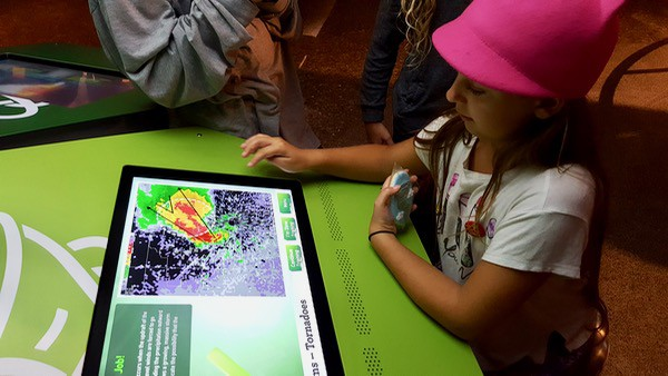 family-travel-science-centre-wild-weather-tornado-tracking image