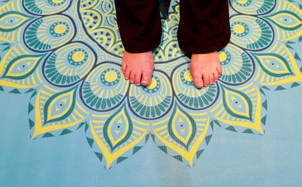 trying-yoga-gaiam-flexibility-mat image