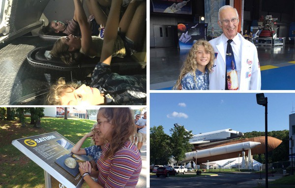 collage of images from US space and rocket center