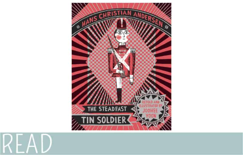 The Steadfast Tin Soldier picture book cover art