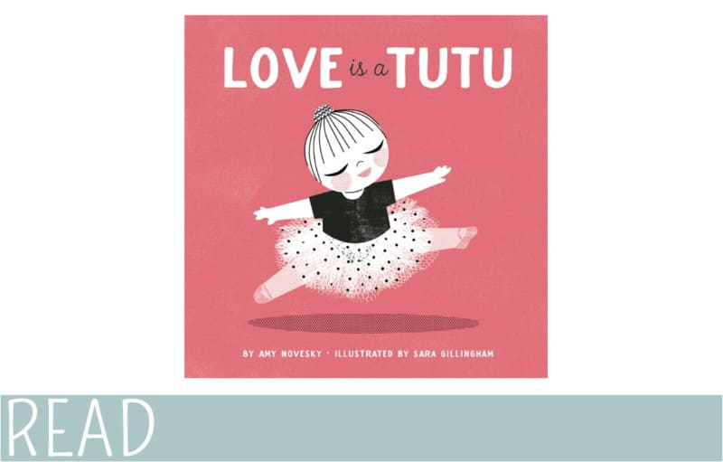 love is a tutu cover art work