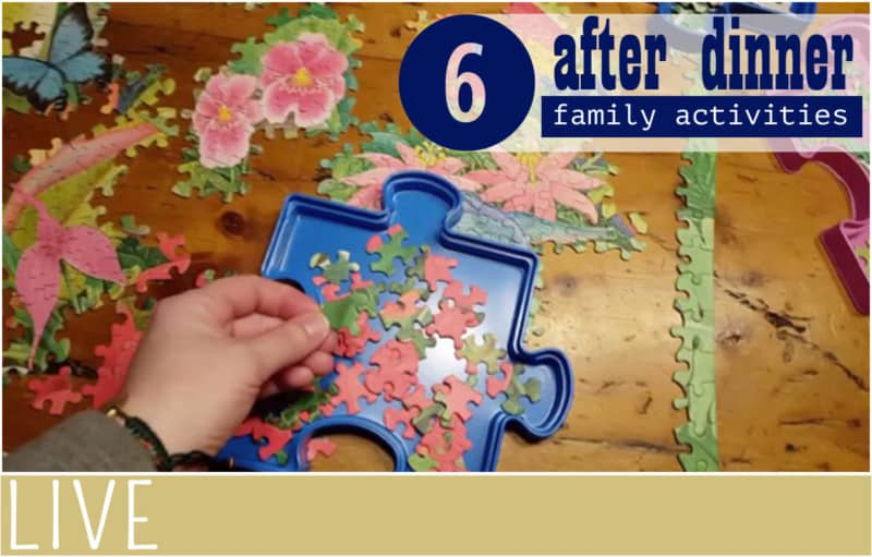 Family Time After Dinner Activities title image