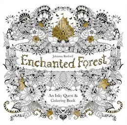 Family Time Enchanted Forest Colouring Book