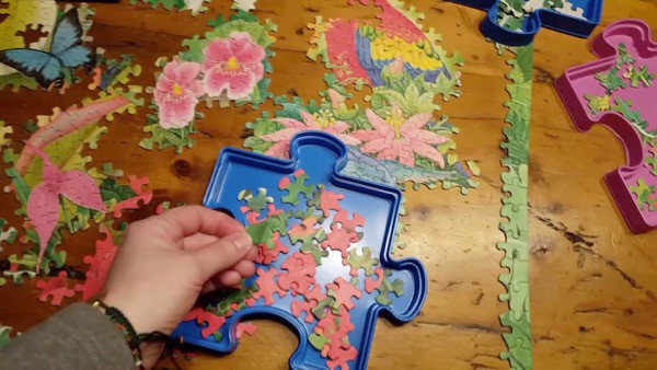 Family Time Puzzle Fun image