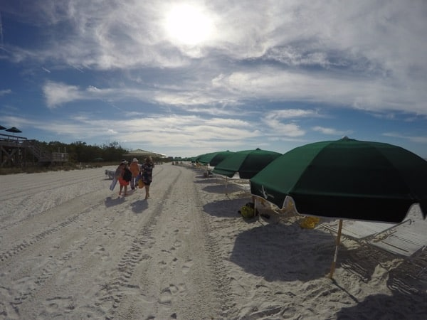 Family Travel Hyatt Coconut Point Big Hickory Island Private Beach image