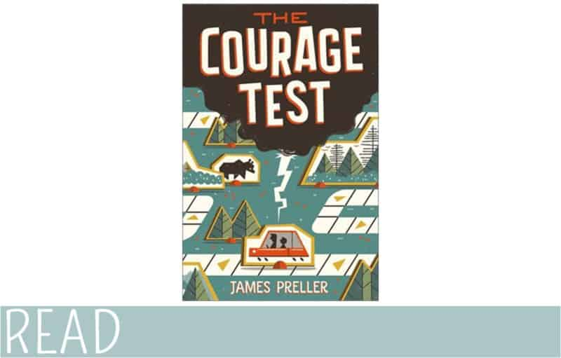 The Courage Test book cover art