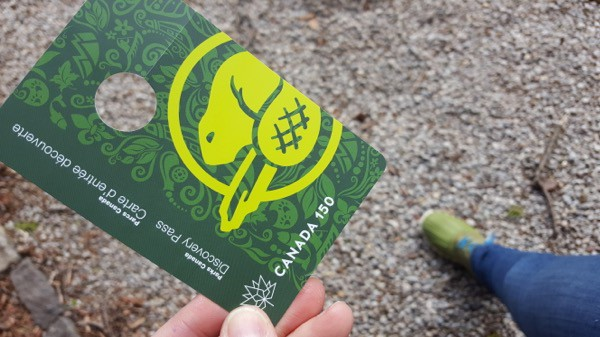 family travel canada parks free discovery pass image