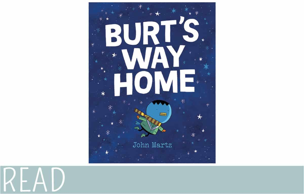 kids book review burts way home cover art