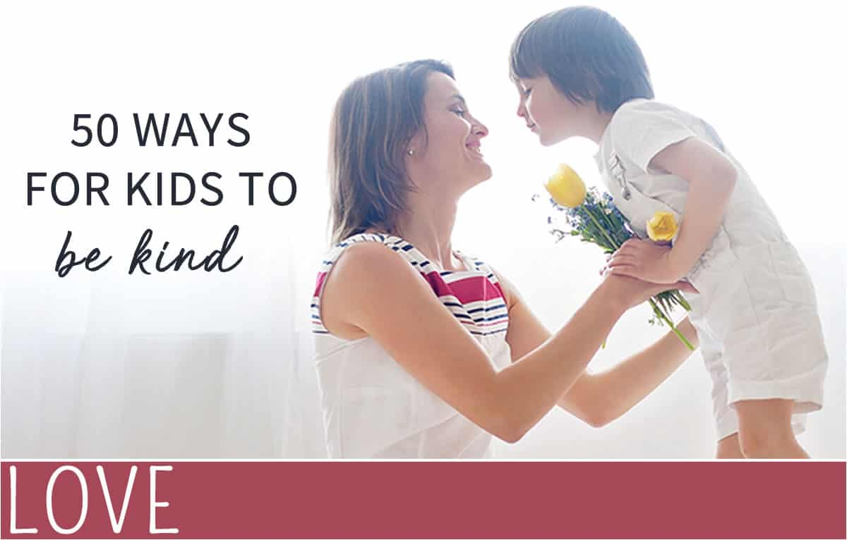 everythingmom 50 ways for kids to be kind banner