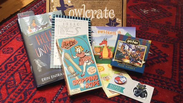 kid book review owlcrate jr march unboxing contents image