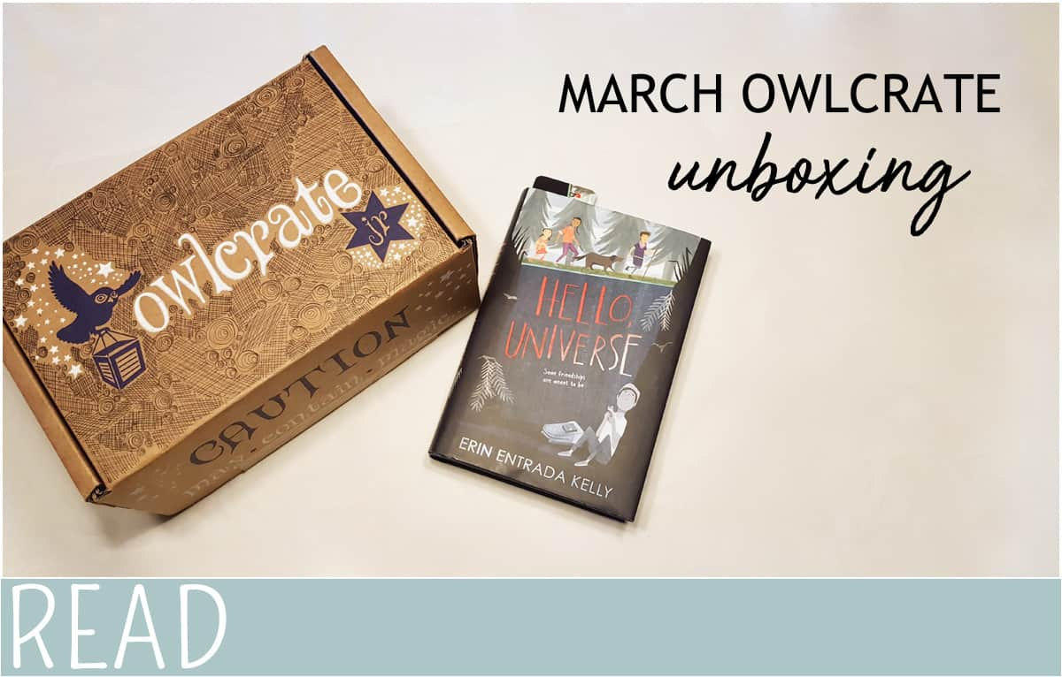kid book review owlcrate march unboxing image