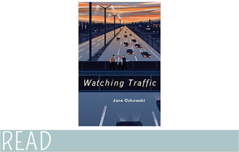review watching traffic book art cover