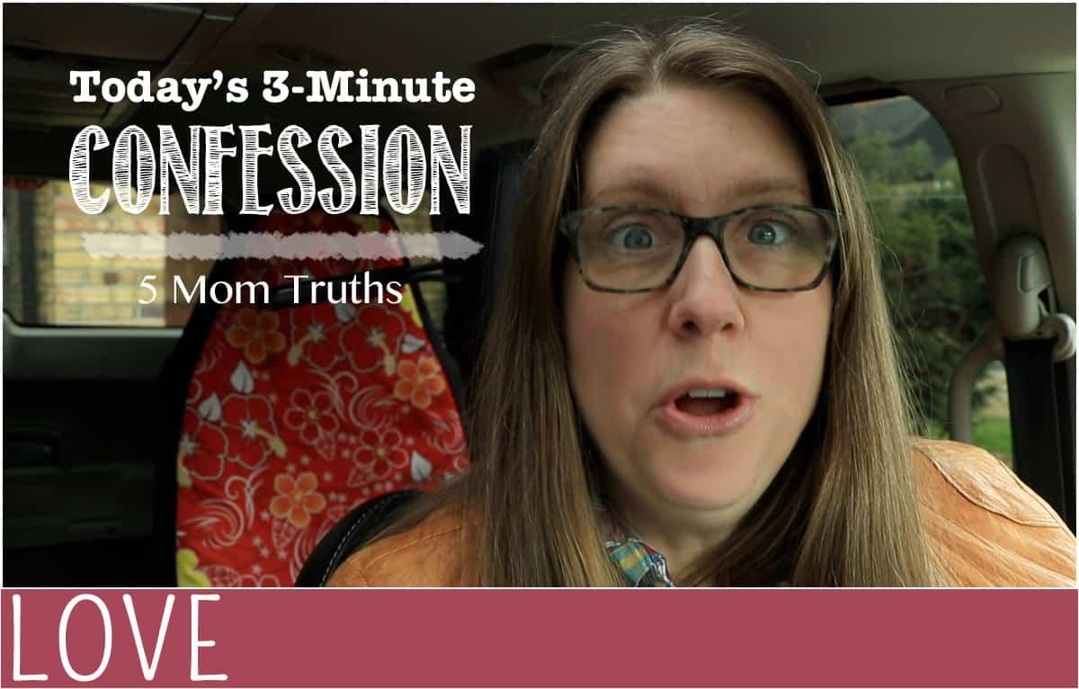 mom confession mom truths header image