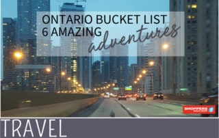 amazing ontario bucket list for family travel cityscape image