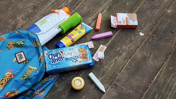 family travel summer bucket list supplies
