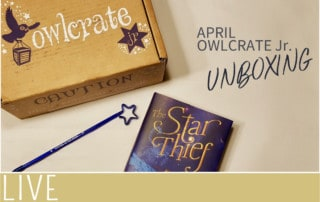 owlcrate junior kidlit unboxing april subscription image