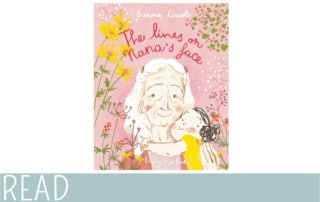 books for kids Lines on Nana's Face book cover art image