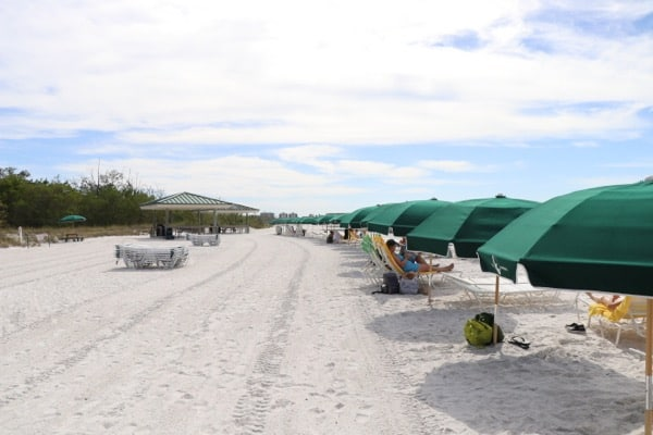 family travel florida vacation coconut point sandy private beach image