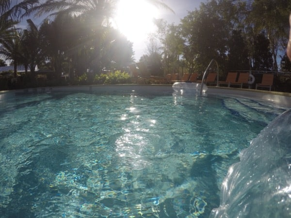 family travel florida vacation coconut point lazy river image