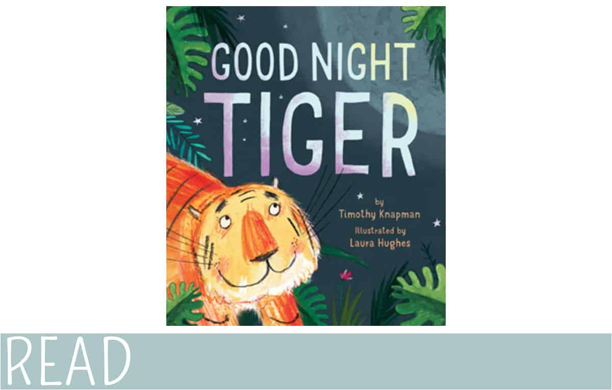 books for kids good night tiger cover art