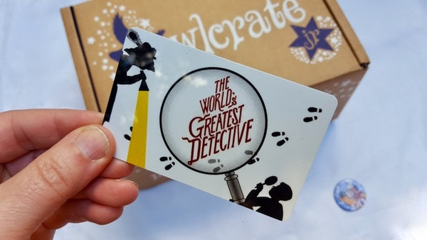 books for kids owlcrate jr may detective card image