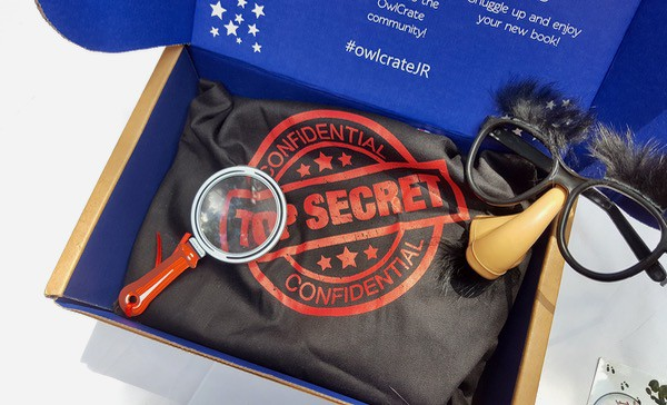 books for kids owlcrate may tween top secret unboxing image