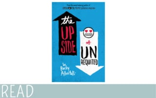 books for kids teen read Upside Unrequited book art image