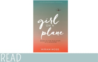 Books for Teens Girl on Plane book cover image