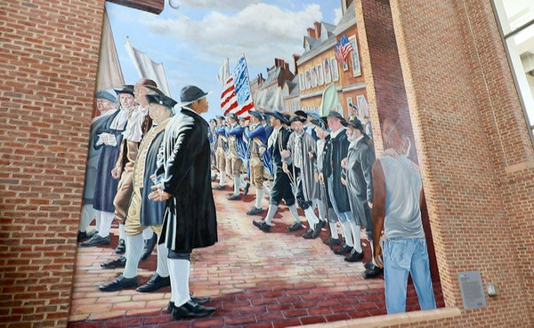 11 things families must do in historic philadelphia for Mural tour philadelphia map