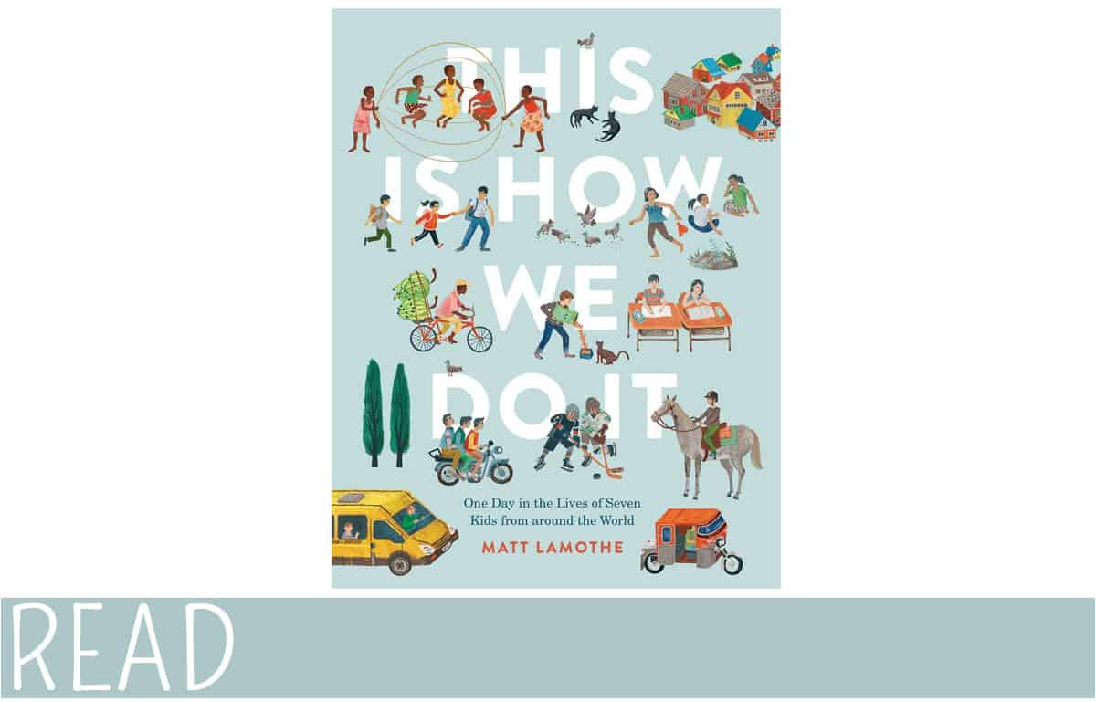 This is How We Do It picture book cover art