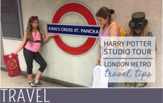 everythingmom family travel harry potter studio tour travel tips underground image