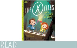 everythingmom kids books review xfiles earth children are weird book cover art