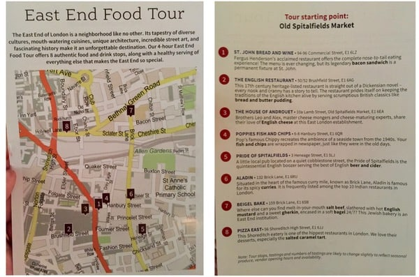 everythingmom family travel london east end food tour guide outline