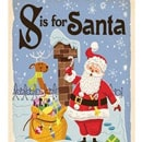 holiday christmas book countdown 2017 - S is for Santa