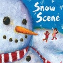 holiday christmas book countdown 2017 - Snow Scene