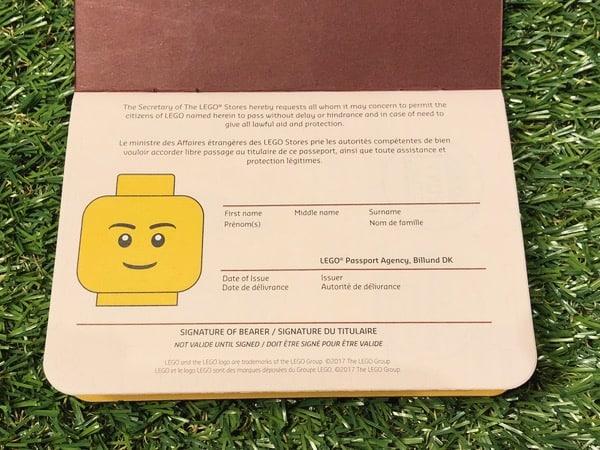 Best Free Souvenir: LEGO Passport