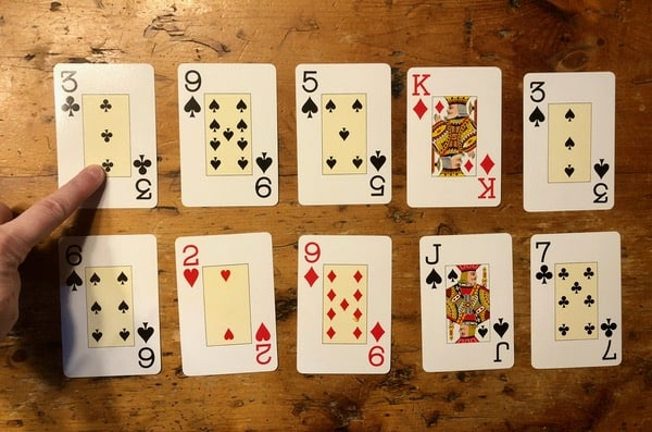 family game time how to play pirate gold solitaire cards finding pairs