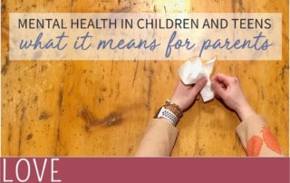 mental illness in children and teens means for parents image