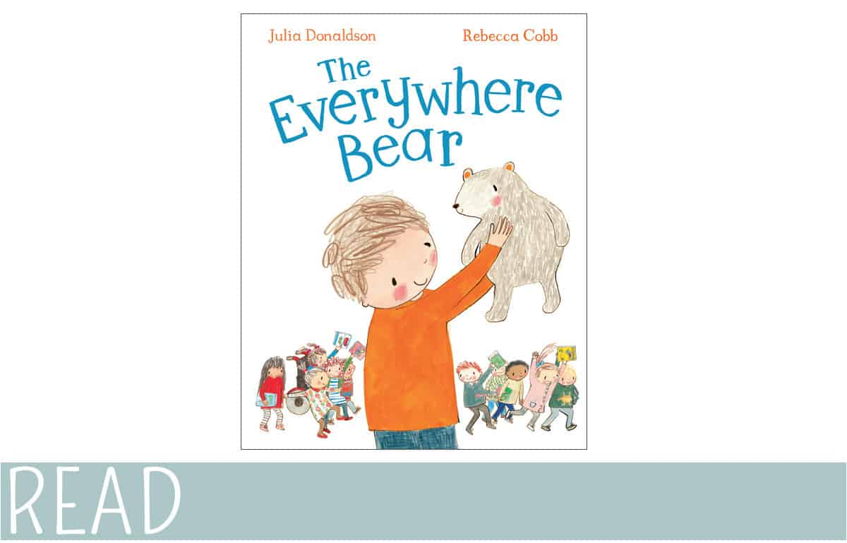Cover of everywhere bear review