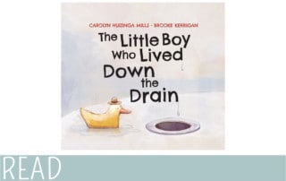 books for kids little boy lived down the drain review