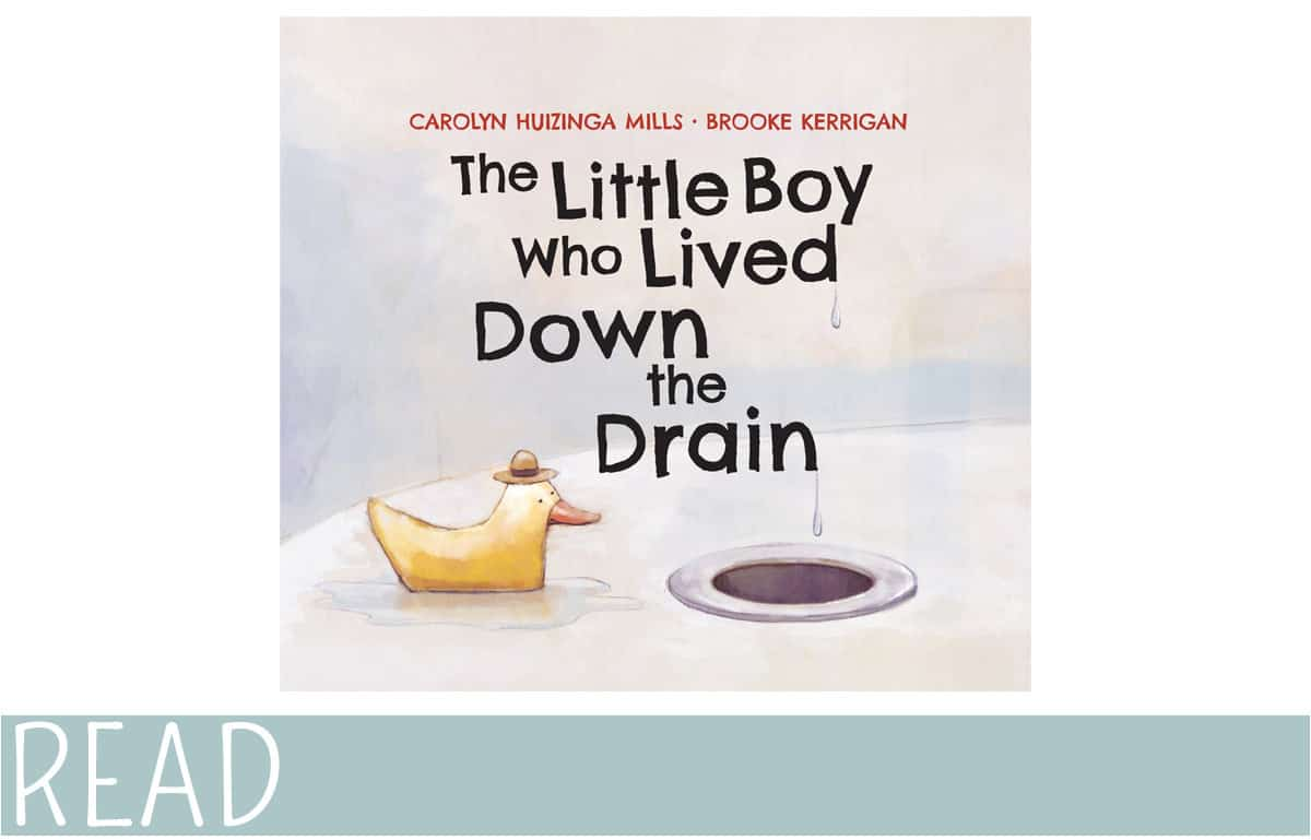 book cover of THe Little Boy who Lived Down the Drain