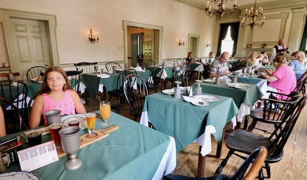 family travel everythingmom historic philadelphia city tavern dining room