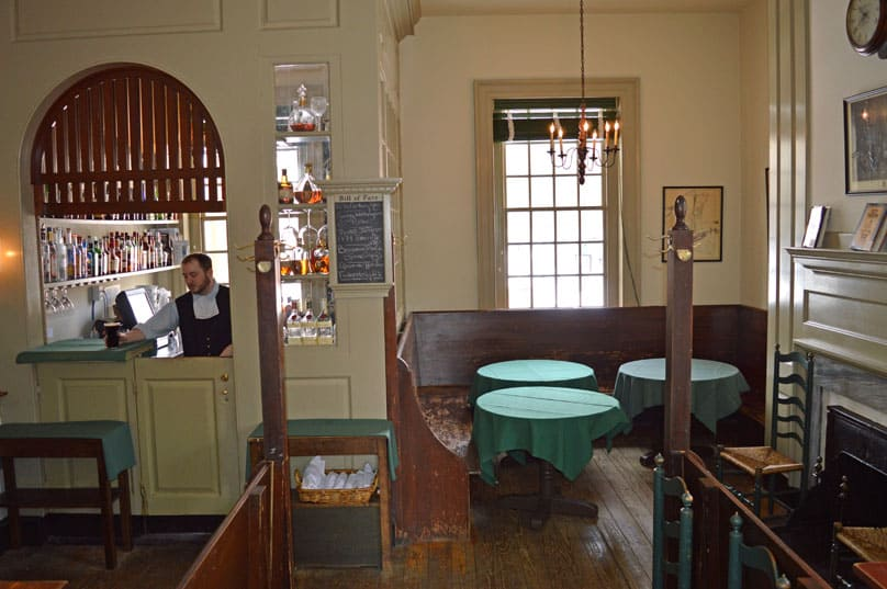 family travel historic philadelphia city-tavern-bar
