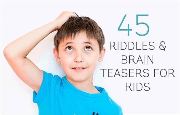 View Larger Image A Kid Enjoying Riddles And Brain Teasers